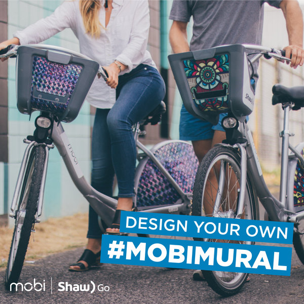 Design your own mobimural vancouver bike share mobi for Design your own mural