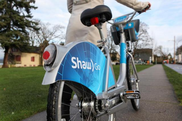 A gift from Mobi by Shaw Go | Vancouver Bike Share | Mobi